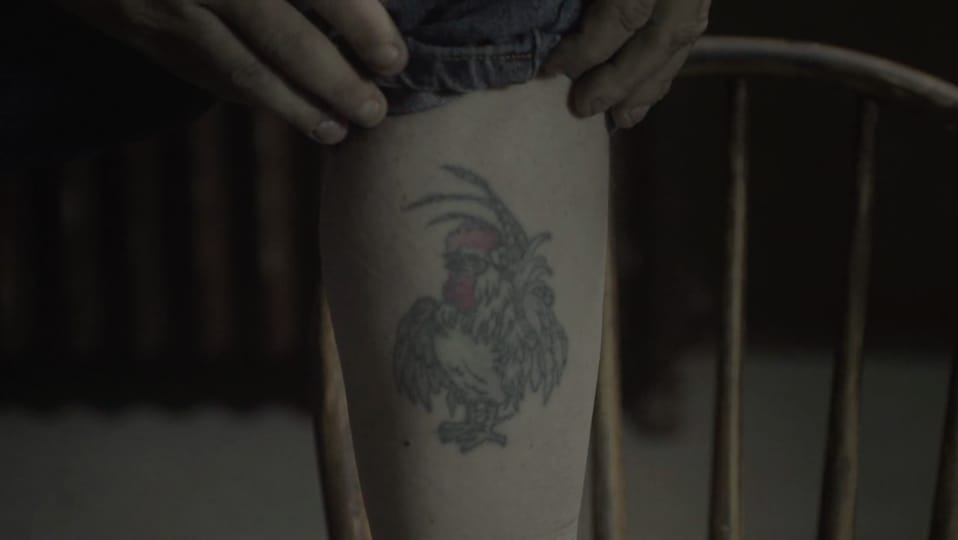 Still from You Won't Regret That Tattoo