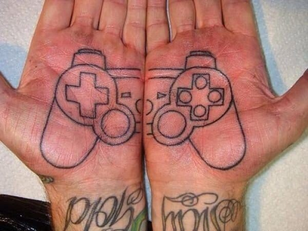 joystick matching tattoo