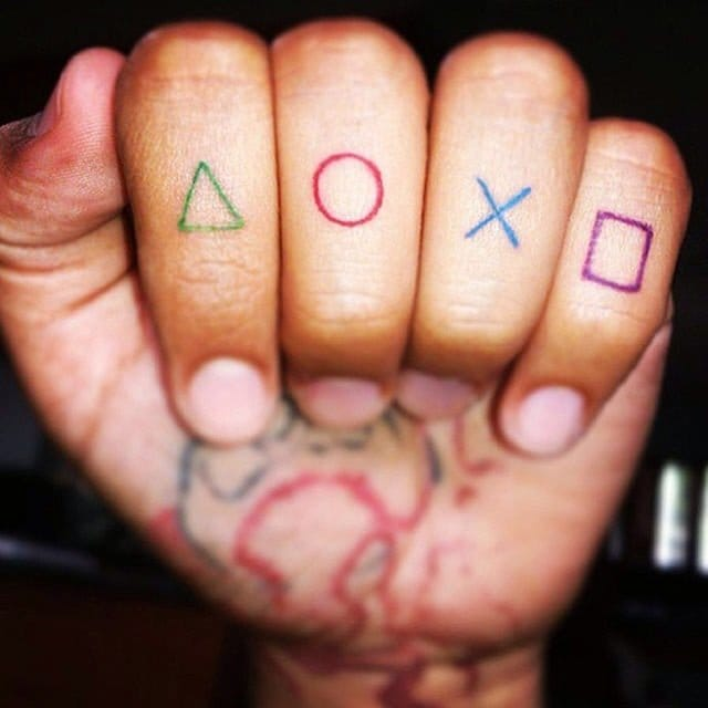 6 Totally Cool & Awesome Playstation Tattoos | Tattoodo