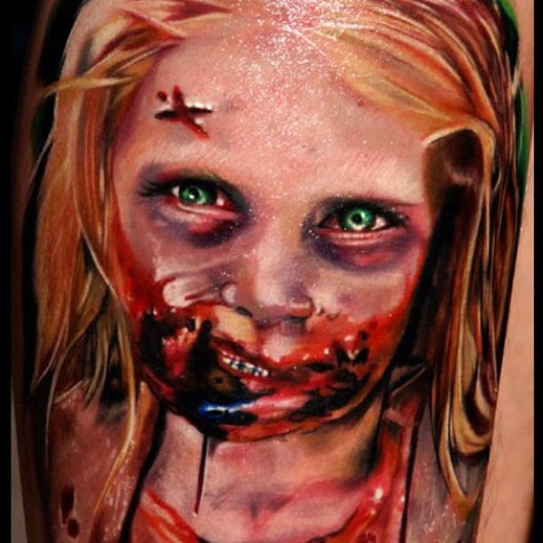 Amazing realistic tattoo art