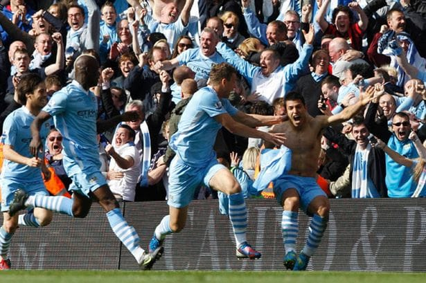 Sergio Aguero will forever be a Manchester City hero!!!