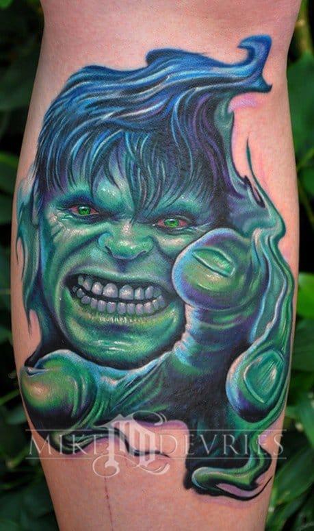 15 Epic & Badass Marvel Superhero Tattoos