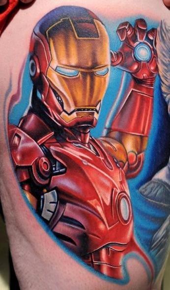 Ironman (Tattoo Artist: Nikko Hurtado)
