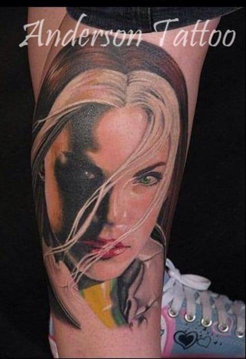 Rogue tattoo