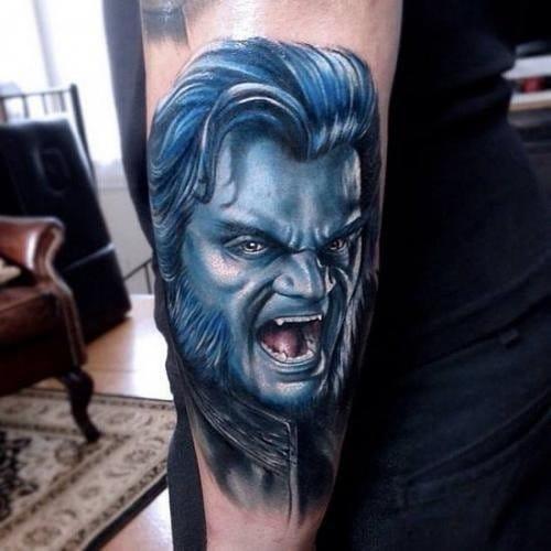 Beast tattoo
