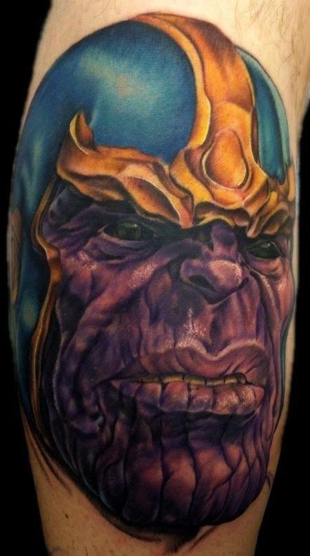 Thanos (Tattoo Artist: Justin Mariani)