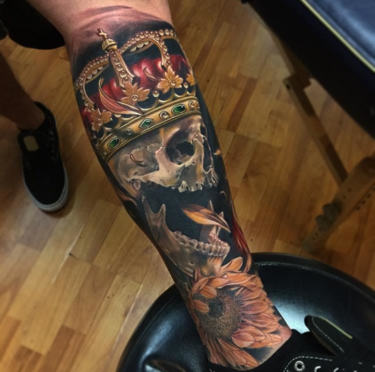 Skull King by Brent Olson.