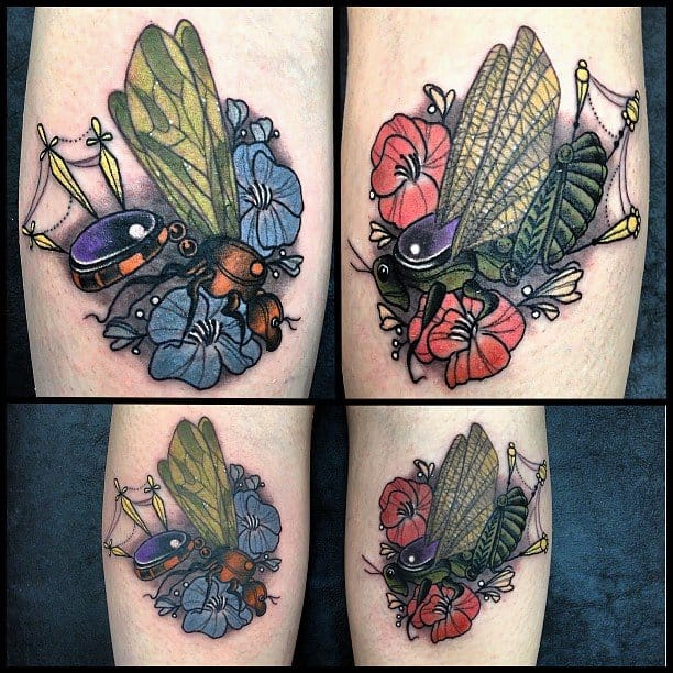 Precious insects by Missy Rhysing.
