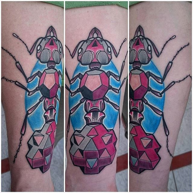 Ant Tattoo by Nomada Tattoo