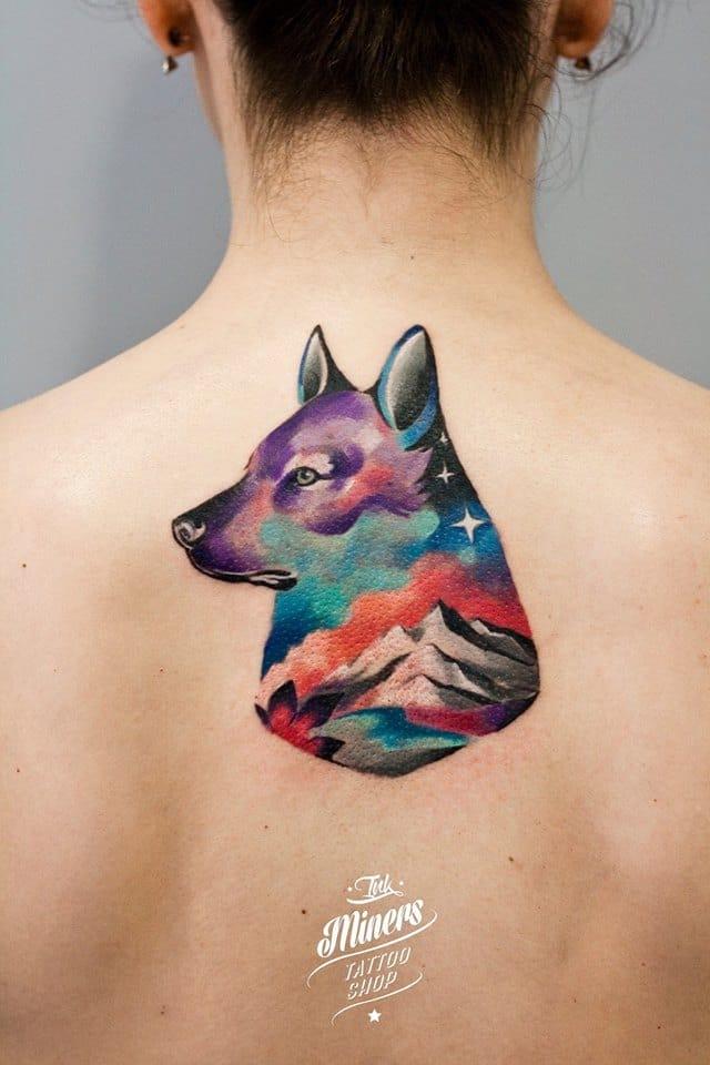 Poetic wolf.