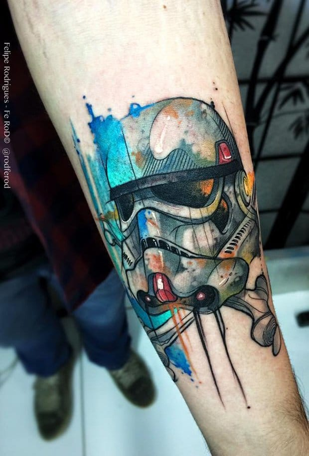 Felipe Rodrigues Created This Awesome Tattoo!!