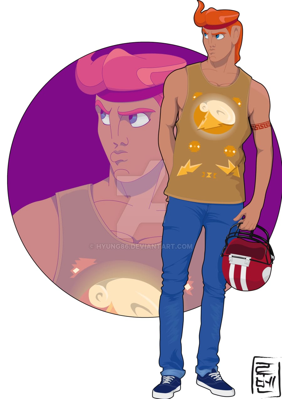 Hercules, the quarterback.