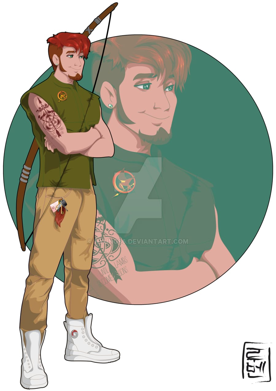 Robin Hood, as an English major and the leader of the Archery club at the university.