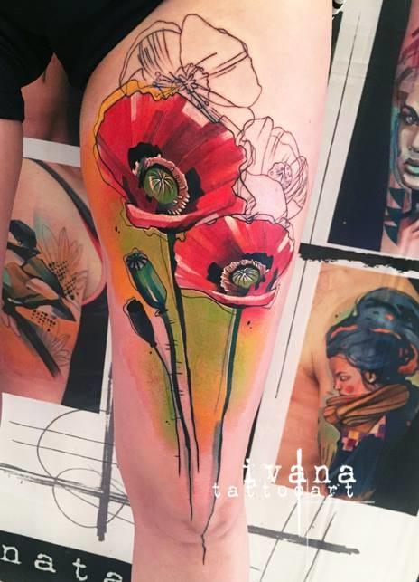 Famous graphic art of Ivana Belakova.