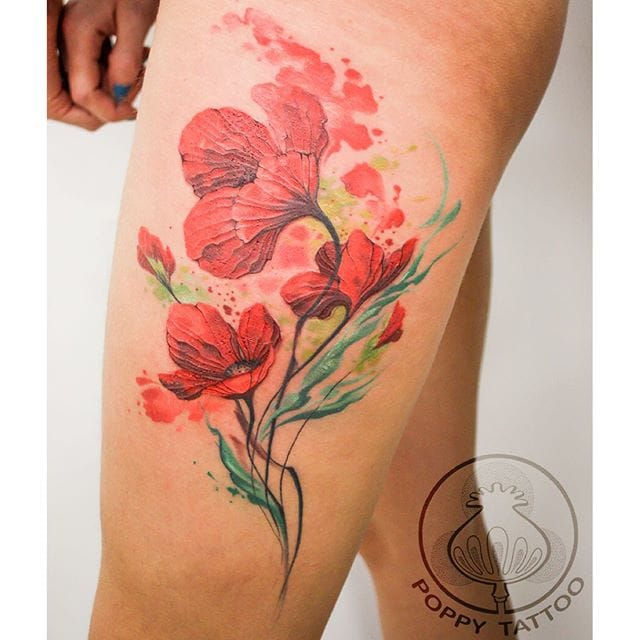 Pavla Poppy is indeed making poppy tattoos!