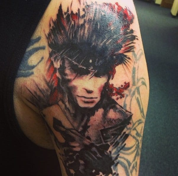 Great Tattoo by Ron Fox