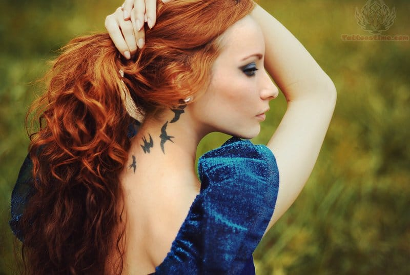 Tatuagens Na Nuca Em 15 Fotos Para Você Se Arrepiar Parte 2