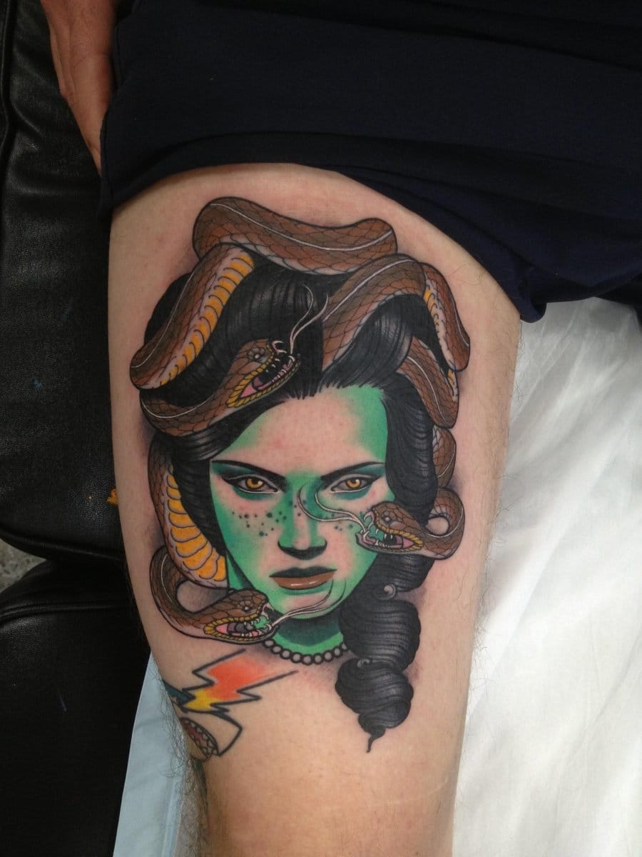 Tattoo by Dan Molloy