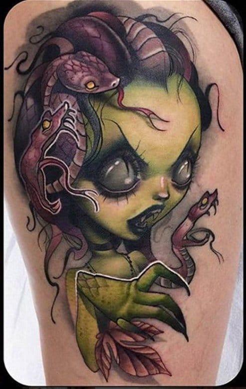 Kelly Doty e suas tatuagens inconfundíveis!