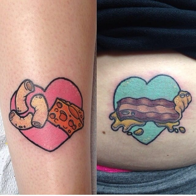 Macaroni lovers are getting tattoos from Sam Tyson.