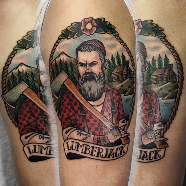 Lumberjack Tattoo