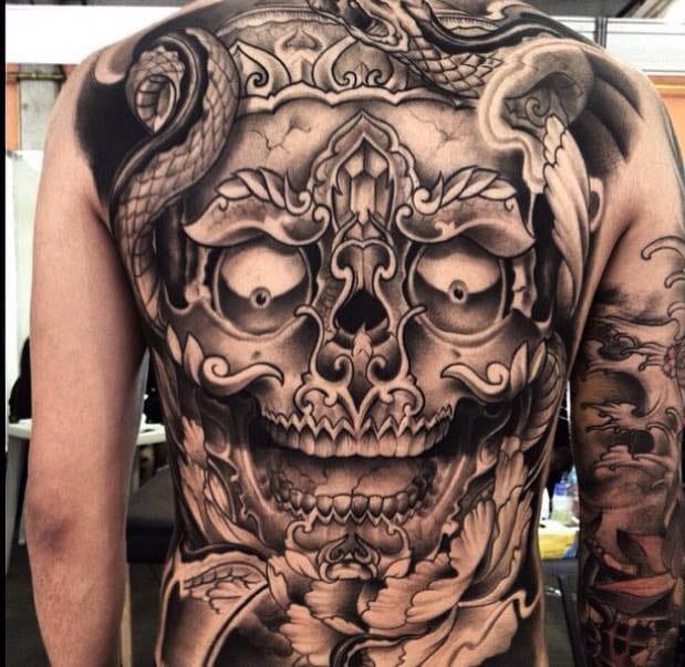 Realismo Preto e Cinza Em 17 Tatuagens Sensacionais Parte 2