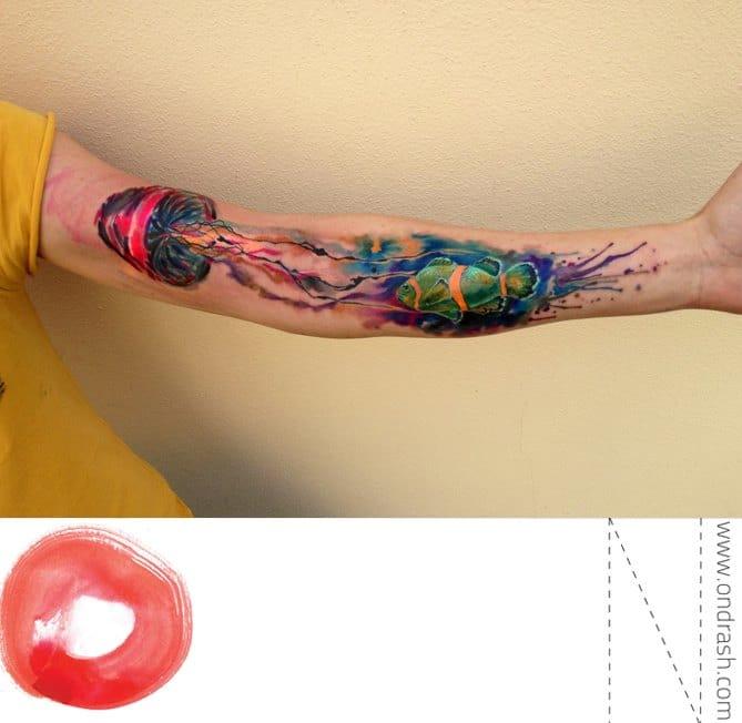 Love This Jellyfish Tattoo!!