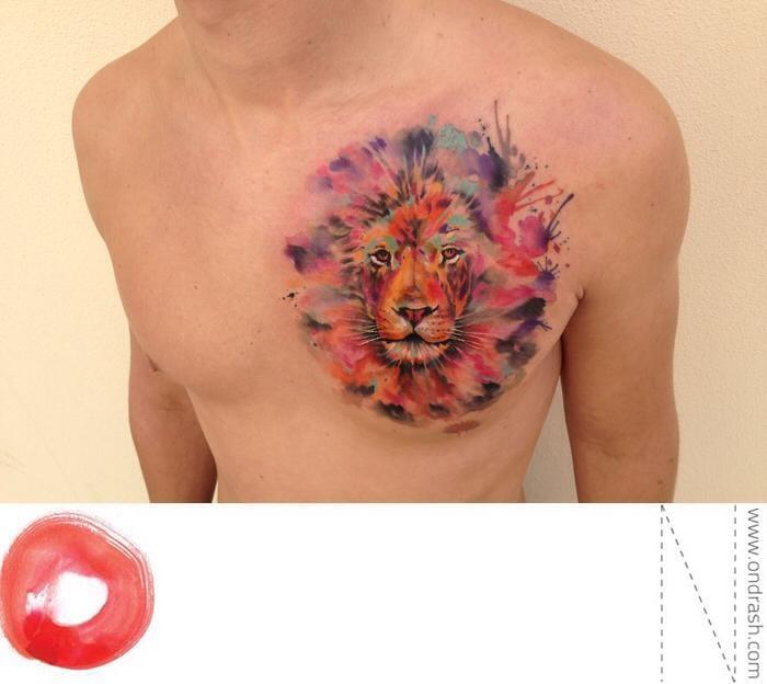 Badass Lion Tattoo!!