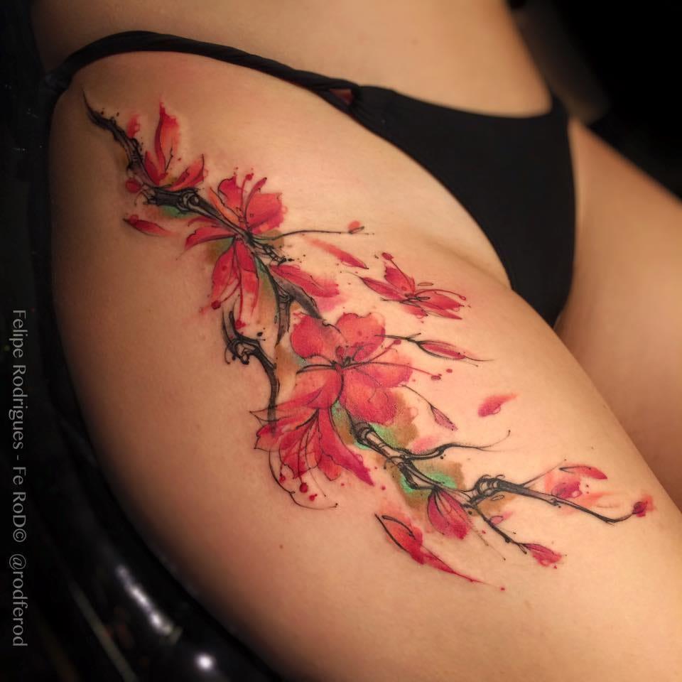 Tatuagens lindas em mulheres maravilhosas