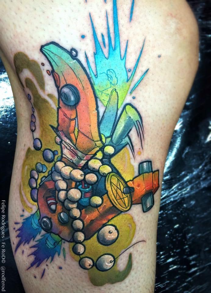 Máquina de tatuagem New School