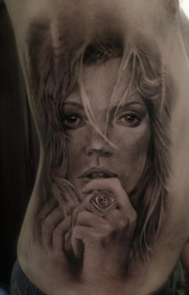 Top model Kate Moss.