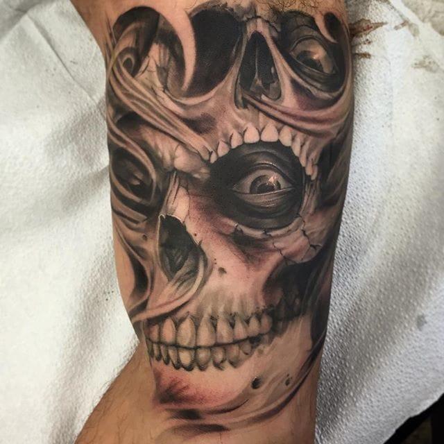 Nice skull via @brian_zolotas