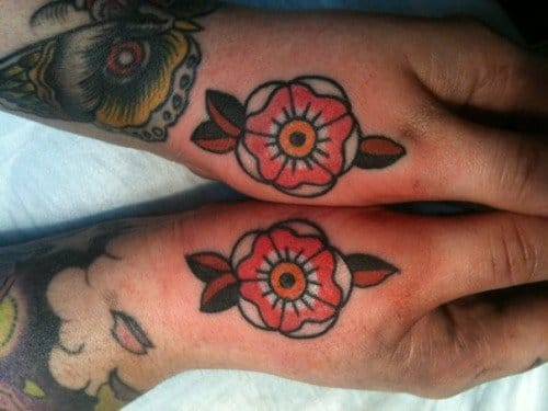 Awesome Flower Tattoos by Jessica Swaffer
