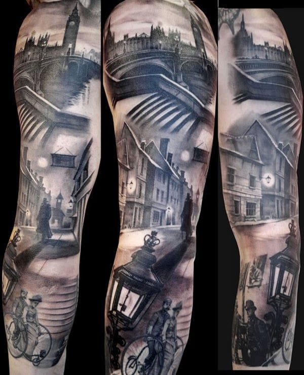 Another fantastic Victorian London sleeve by Matteo Pasqualin !