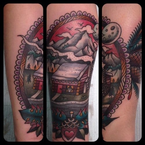 Traditional Style Work by Matt Houston