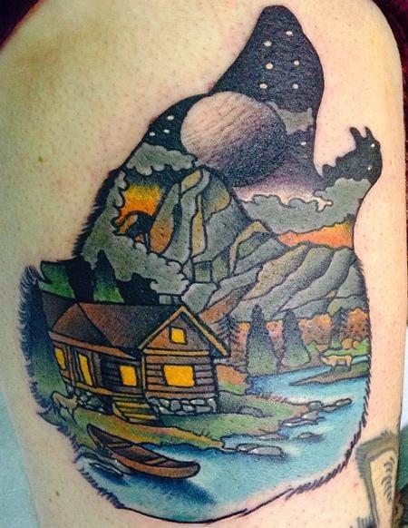 Creative Tattoo by Gary Dunn
