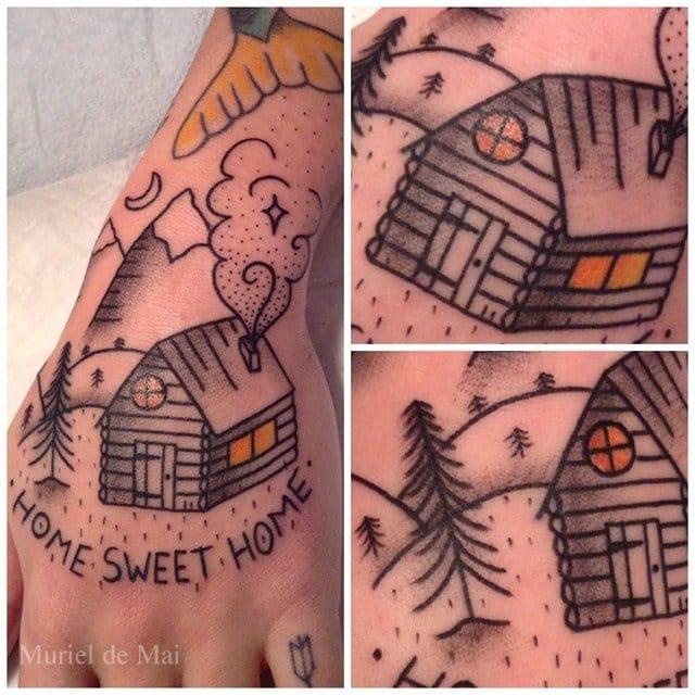 Home Sweet Home by Muriel de Mai