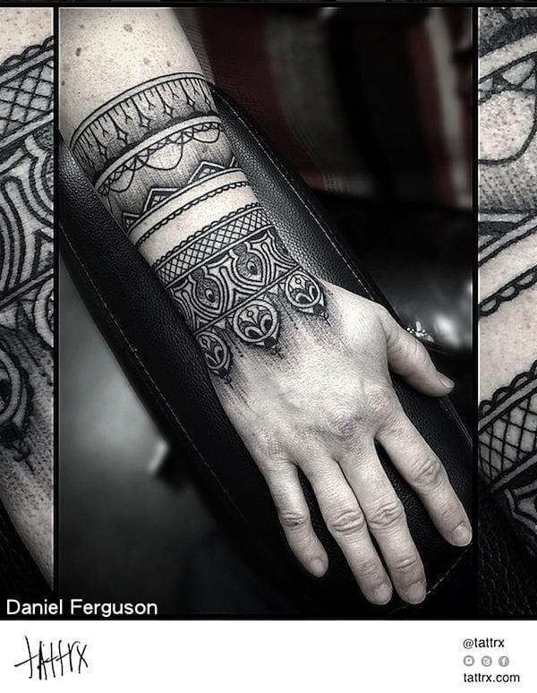 Fine work by Daniel Ferguson.