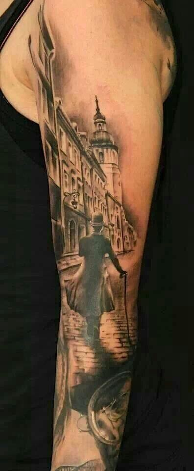 Another London sleeve by Florian Karg.