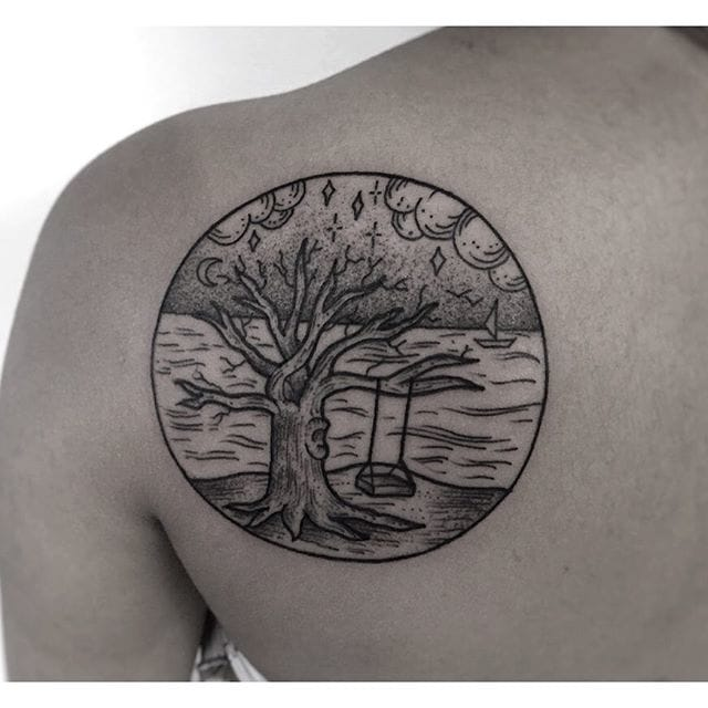 Lovely piece by Eddy's Tattoo.
