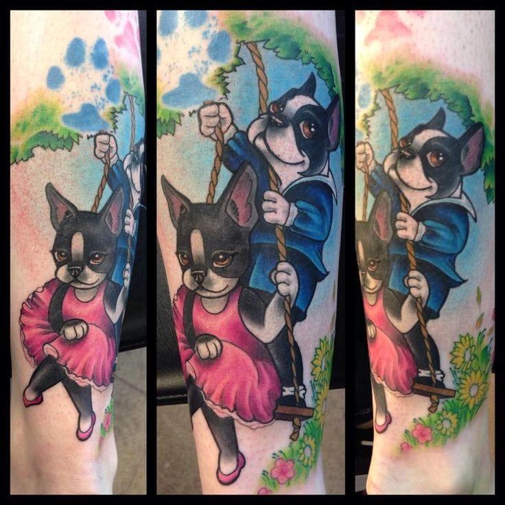 Cute tattoo by Erika Jones.