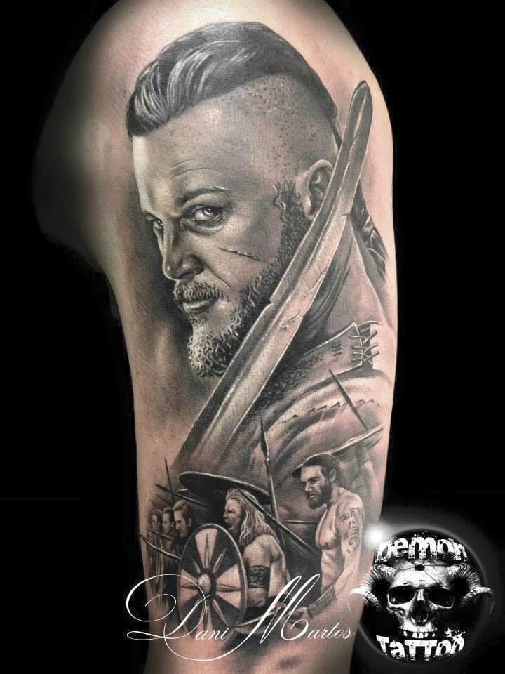 Prepare For The Next Raid With History S Vikings Tattoos Tattoodo