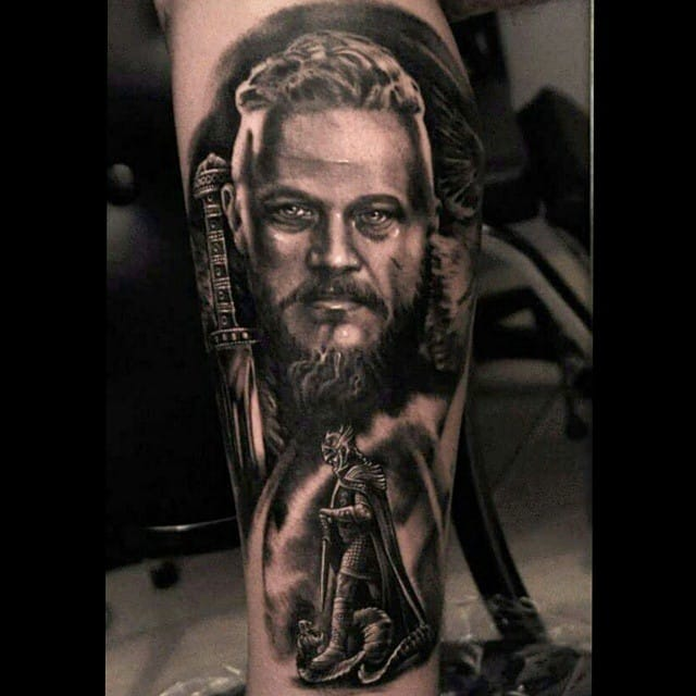 Powerful tattoo by Dobi Slavov.