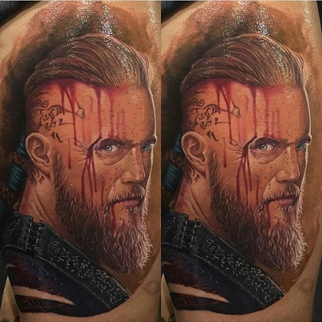 Bloody Ragnar by Murilo Oliveira.