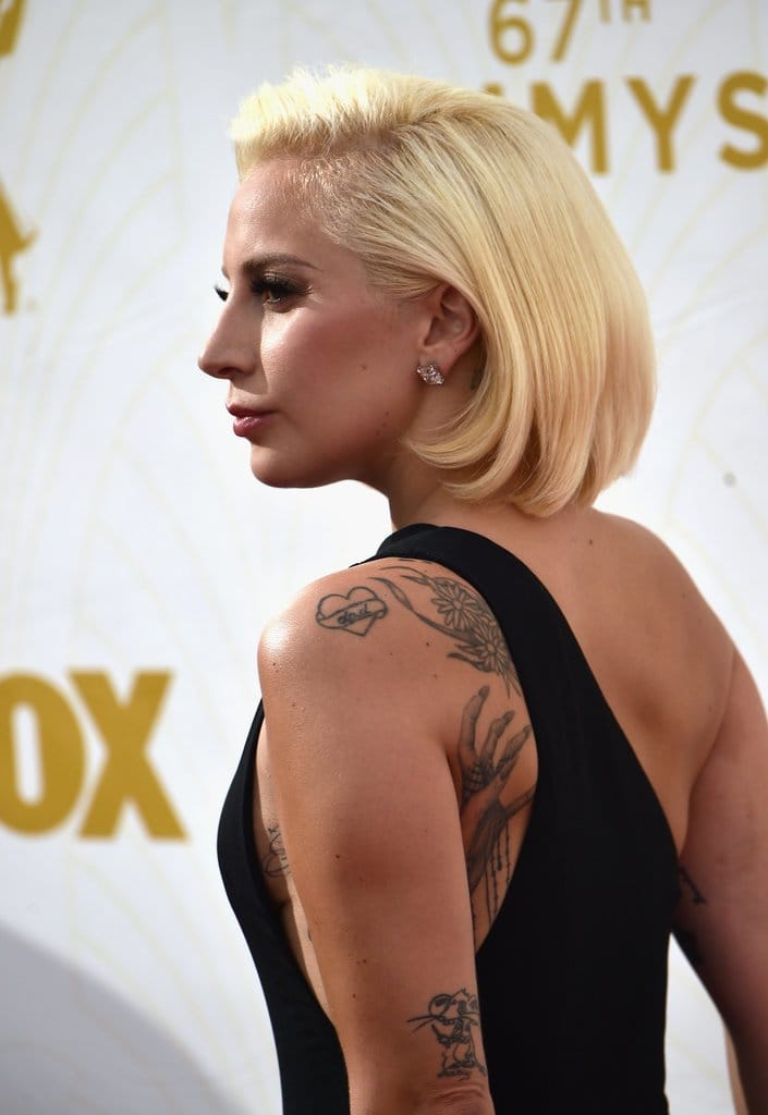 Lady Gaga, The Inked Goddess Of This Year's Emmys