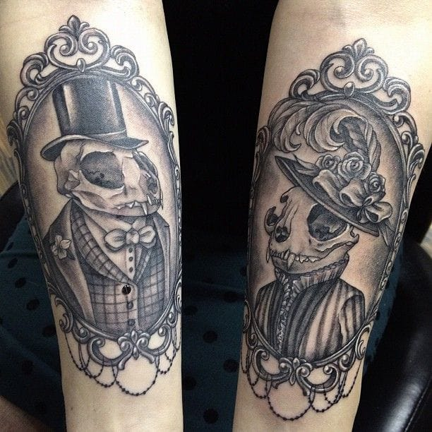 Dapper dead animals by Melissa Szeto. Victorian people were fascinated by Death.
