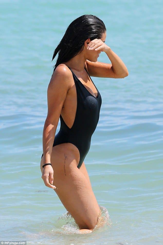 selena gomez miami beach tattoo