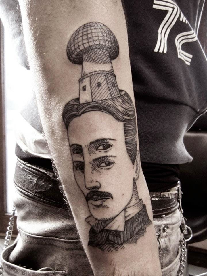 Victorian era inspired tattoos