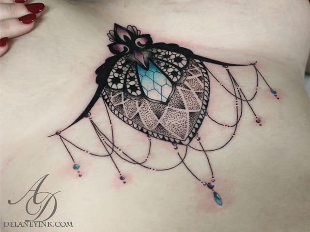 Anali De Laney e Sua Percepção Artística Em 20 Maravilhosas Tatuagens