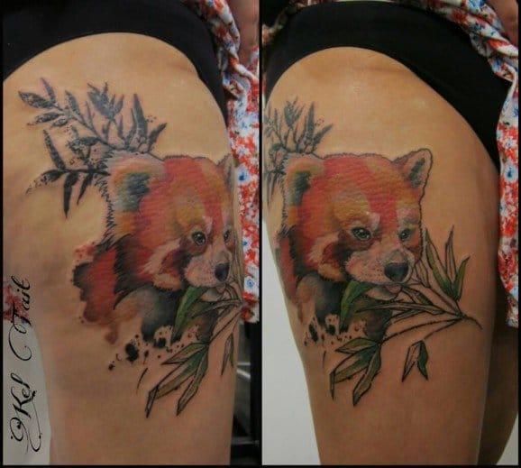 18 Endearing Red Panda Tattoos